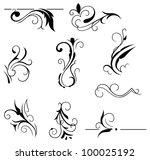 raster version  decorative... | Shutterstock . vector #100025192