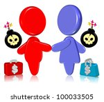 handshake | Shutterstock . vector #100033505