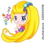 cute baby   Shutterstock . vector #100054598