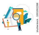 education  online training... | Shutterstock .eps vector #1001002288