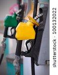 petrol pump station | Shutterstock . vector #100132022