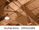 factory ceiling   Shutterstock . vector #100161686