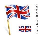 country uk flag   Shutterstock .eps vector #100165352