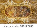 Rome   Roof Of San Luigi Church