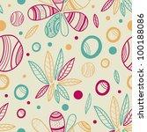 decorative seamless texture... | Shutterstock .eps vector #100188086