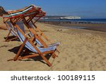 """deck chairs """"for hire"""" 