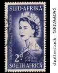 south africa   circa 1953  a... | Shutterstock . vector #100266092