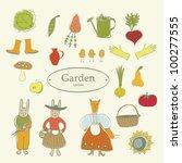 Symbol Vegetable Garden
