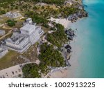 ruins of tulum  mexico  january ... | Shutterstock . vector #1002913225