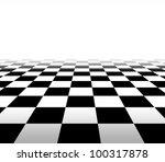 checkered background floor... | Shutterstock . vector #100317878