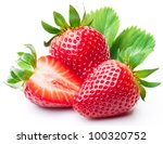 Strawberries With Leaves....