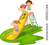 Illustration Of Kids Playing A...