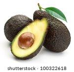 Brown Avocado With Avocado...