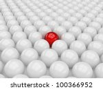 different red ball | Shutterstock . vector #100366952
