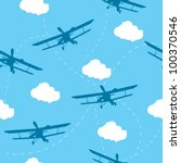 seamless vector pattern of the... | Shutterstock .eps vector #100370546
