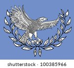 american eagle   Shutterstock .eps vector #100385966