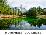 """a beautiful view of """"lake blue"""" ... 