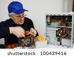 electrician | Shutterstock . vector #100439416