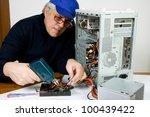 electrician | Shutterstock . vector #100439422