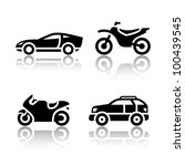 set of transport icons   sports ...   Shutterstock .eps vector #100439545