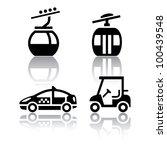 Set Of Transport Icons   Sport
