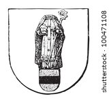 krefeld coat of arms  city in... | Shutterstock .eps vector #100471108