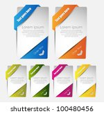 hi quality web banners for sale ... | Shutterstock .eps vector #100480456