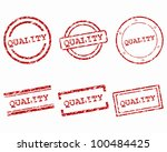 quality stamps | Shutterstock .eps vector #100484425