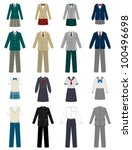 school uniform | Shutterstock .eps vector #100496698