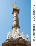 the angel of independence ... | Shutterstock . vector #100506442