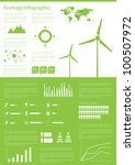 ecology info graphics... | Shutterstock .eps vector #100507972