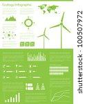 ecology info graphics... | Shutterstock .eps vector #100507972