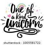 typographic fantasy design.... | Shutterstock .eps vector #1005581722