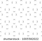seamless ornamental vector... | Shutterstock .eps vector #1005582022