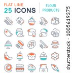 Set Of Vector Line Icons  Sign...