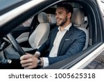 man of style and status.... | Shutterstock . vector #1005625318