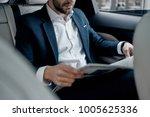 latest business news. close up... | Shutterstock . vector #1005625336