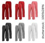sweatpants set. | Shutterstock .eps vector #100562896
