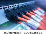 information technology computer ... | Shutterstock . vector #1005635596