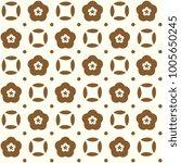japanese floral pattern. golden ...   Shutterstock .eps vector #1005650245