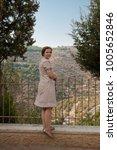 model against st. john in the...   Shutterstock . vector #1005652846