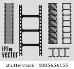 film strip  vector illustration.... | Shutterstock .eps vector #1005656155