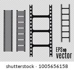 film strip  vector illustration.... | Shutterstock .eps vector #1005656158
