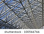 texture of diagonal shafts | Shutterstock . vector #100566766