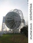 Small photo of Macclesfield, Cheshire, England December 05 2016 A view of Jodrell Bank, one of Britain's principle telescopes for astronomical observation and exploration