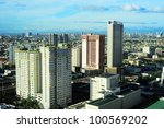Aerial View On Makati   Modern...