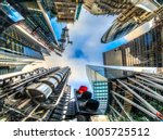 city of london financial... | Shutterstock . vector #1005725512
