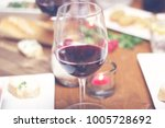 lovely diner food table | Shutterstock . vector #1005728692