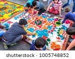 antigua  guatemala    april 14  ... | Shutterstock . vector #1005748852