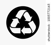 recycle vector illustration ... | Shutterstock .eps vector #1005772165